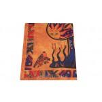 Покрывало  Психодел  оранжевое