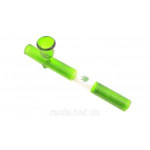 Трубка  Голландия Зеленая. 15 см.