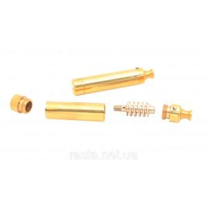 Трубка  Торпеда золотая. 6,5 см.