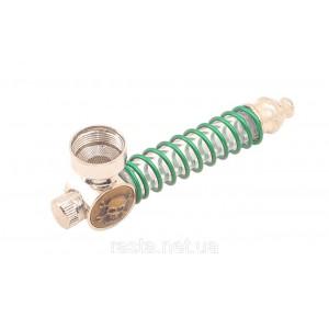 Трубка  Череп с подсветкой  9,5 см.