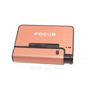 Портсигар с зажигалкой  Focus