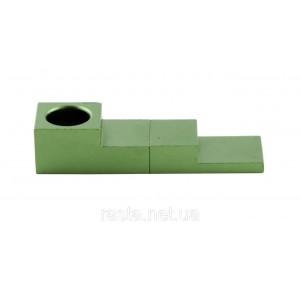 Трубка зеленая  Магнит. 7,5 см.