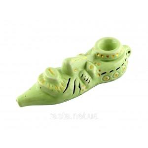 Трубка  Маска. 16,5 см. Зеленая