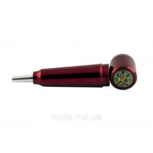Трубка  Гвоздь.  7,2 см. Красная