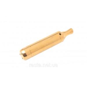 Трубка  Торпеда  золотая. 8,5 см.