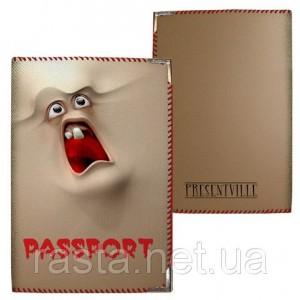 Тканевая обложка на паспорт  Приведение