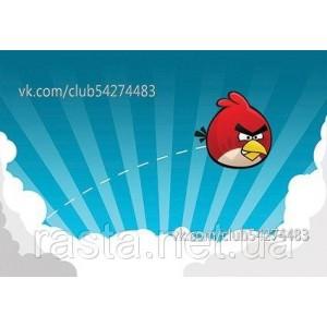 Обложка на паспорт  Angry Bird