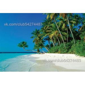 Обложка на паспорт  Пляж