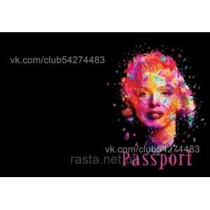 Обложка на паспорт  Мерлин Монро