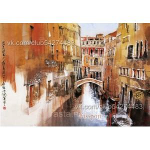 Обложка на паспорт  Венеция