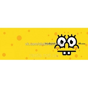 Обложка на ученический  Губка Боб