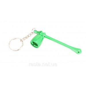 Трубка  Гриб.  9,5 см. Зеленая