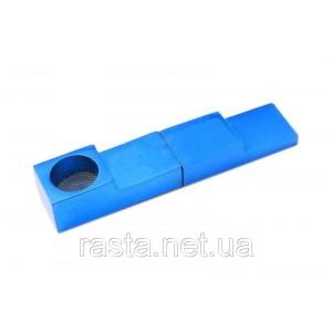 Трубка синяя  Магнит. 7,5 см.