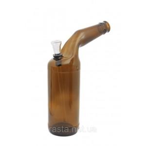 Бонг  Пивная бутылка. 25 см.