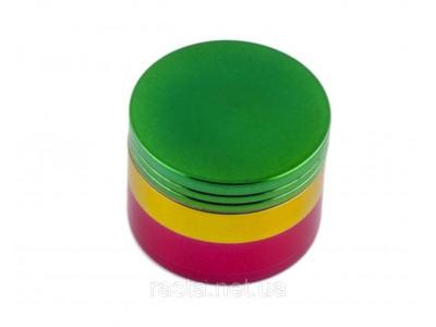 Гриндер из 4-х частей Трехцветный. D- 5 см. H- 3,2 см